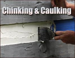 Chinking And Caulking  Highland County, Ohio