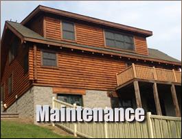 Log Home Maintenance  Highland County, Ohio